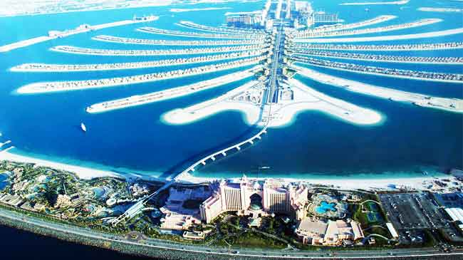 Discovering the Incredible Dubai Palm Islands