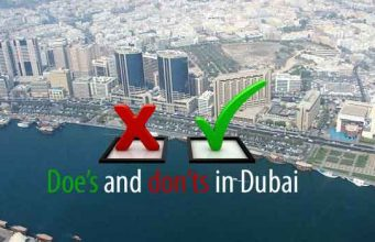 What to do and not do in Dubai Dos and Don'ts
