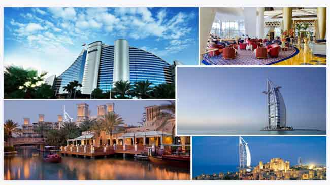 Hotels in dubai the wonders of dubai s best hotels for Coolest hotels in dubai