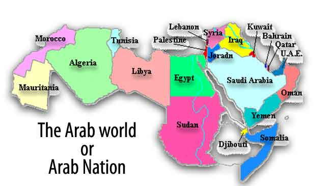 Arab world geography and arab countries gumiabroncs Image collections