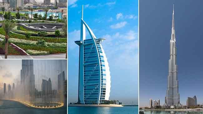 Dubai Towers Get To Know Burj Al Arab Burj Khalifa