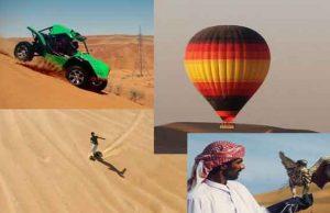 Extreme fun in Dubai